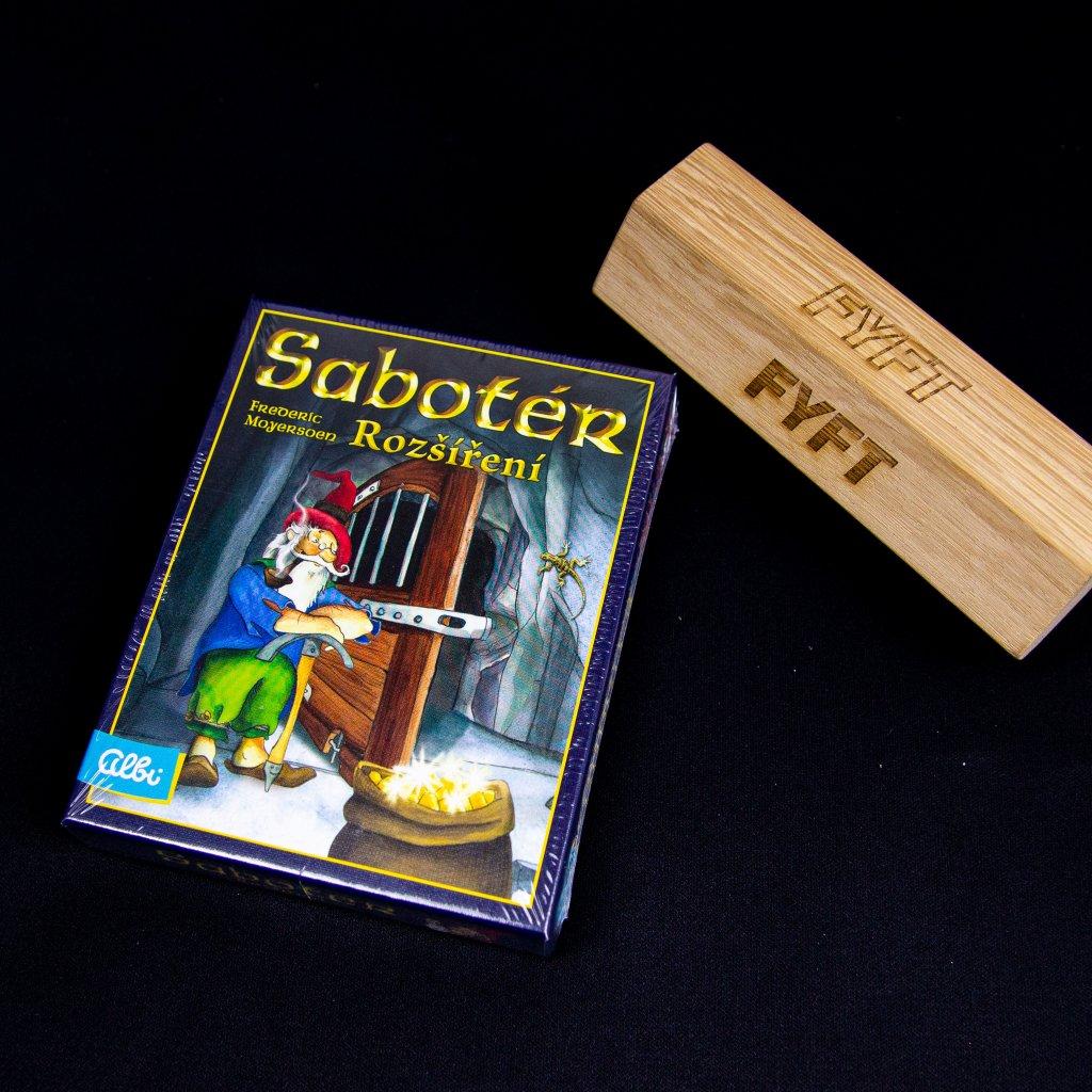 Sabotér - rozšíření (Albi)