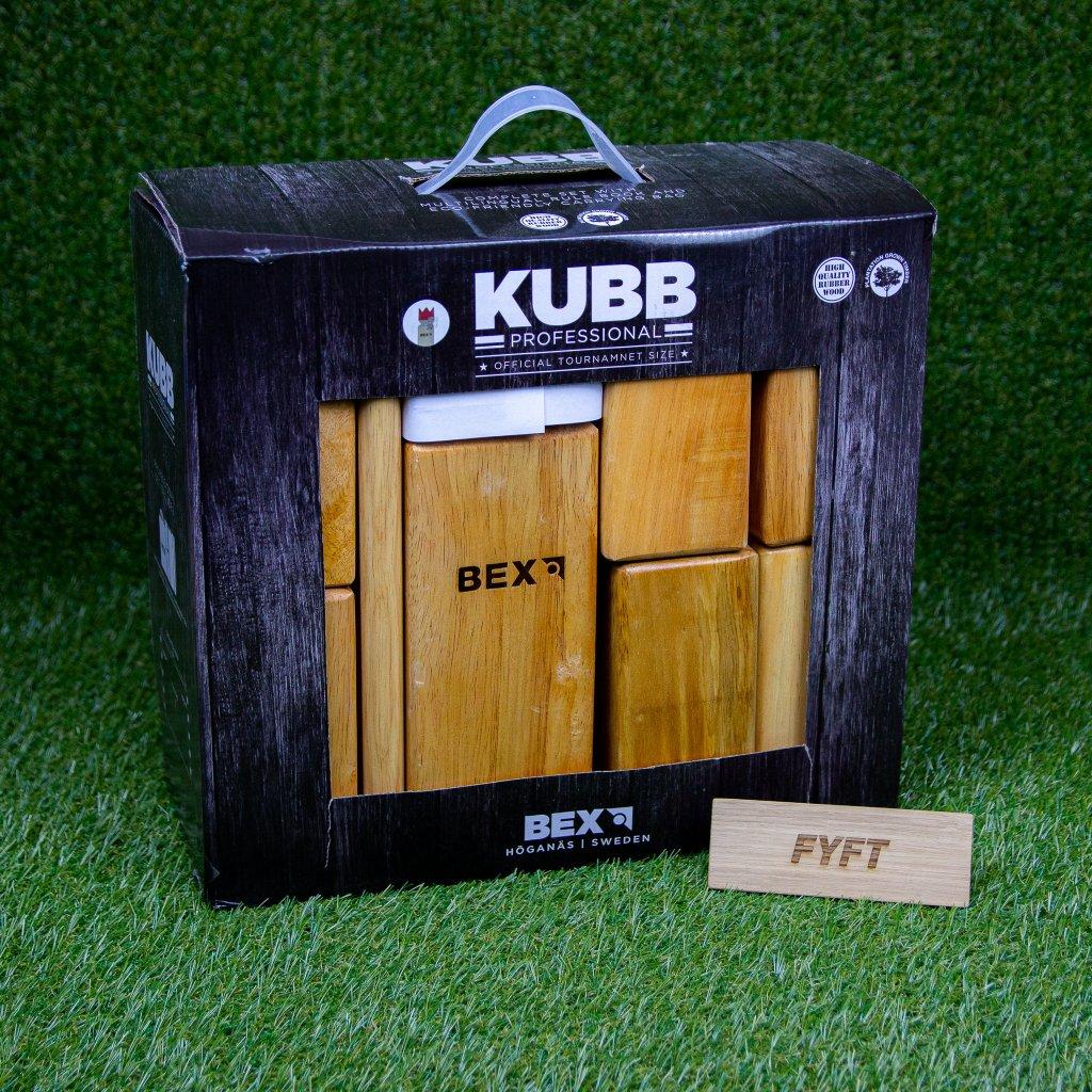 Společenská hra Kubb Professional (Bex Sport)