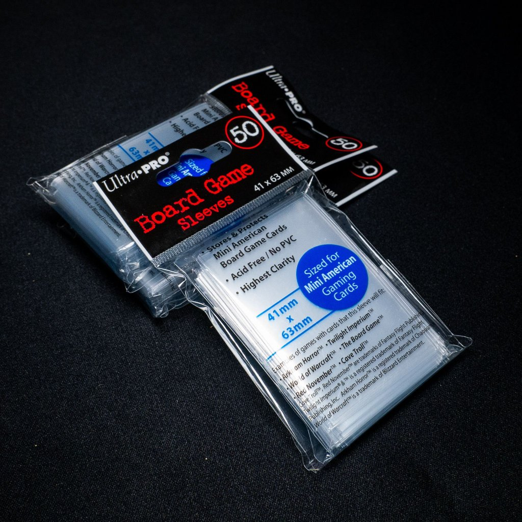 Ultra Pro Mini American (41 x 63mm, 50ks) - obaly na karty