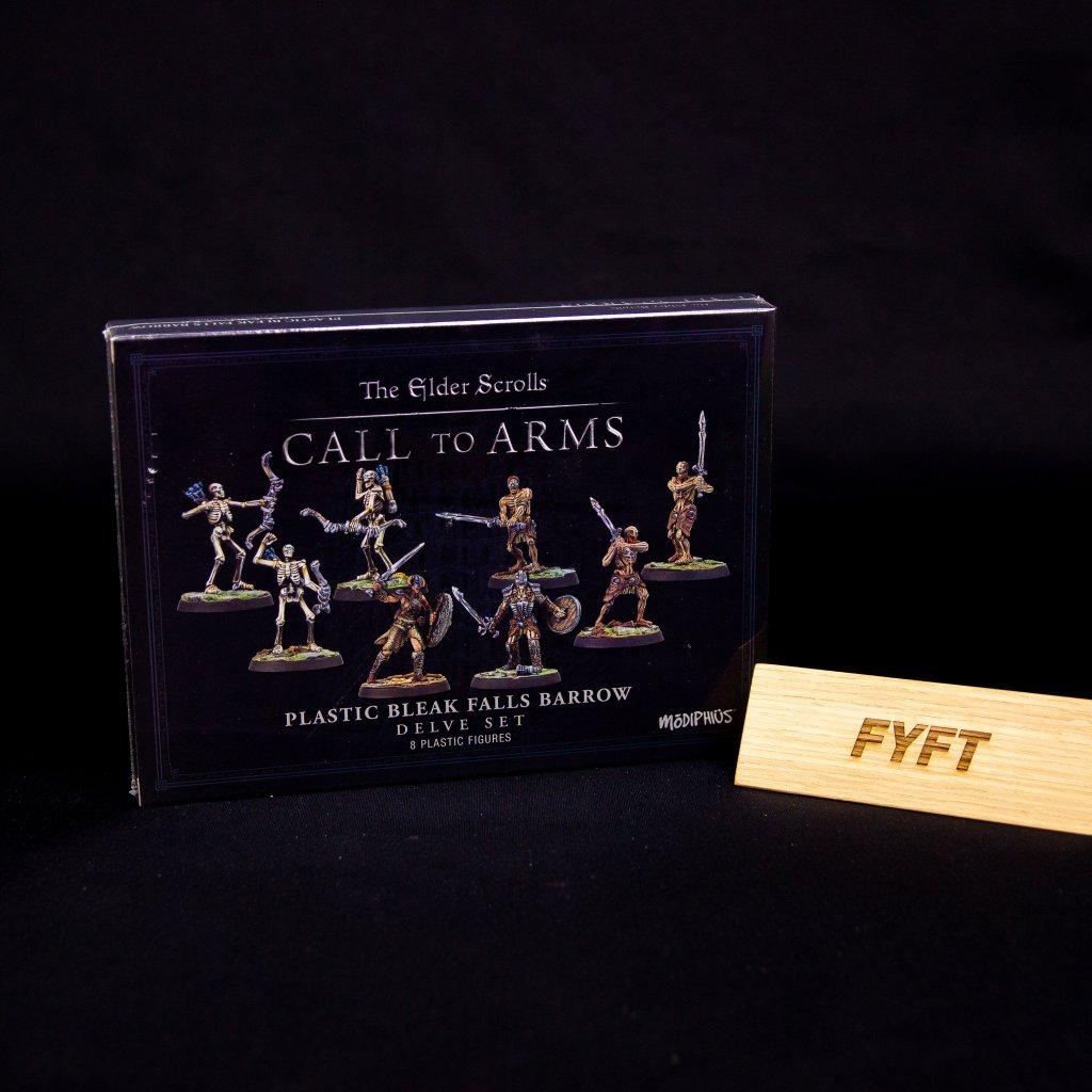 The Elder Scrolls: Call to Arms - The Bleak Falls Barrow Delve Set - EN (Modiphius Entertainment)