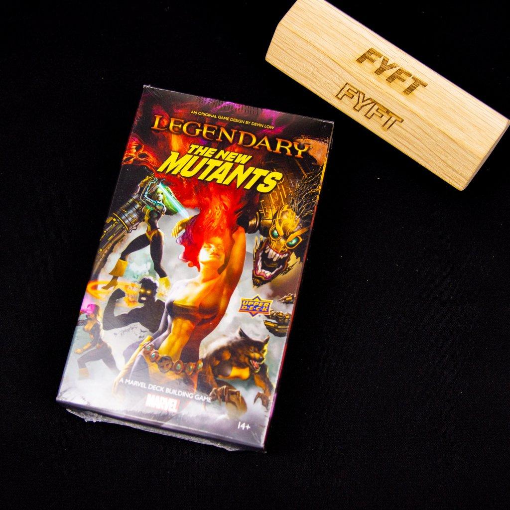Legendary: A Marvel Deck Building Game - New Mutants - EN (Upper Deck)