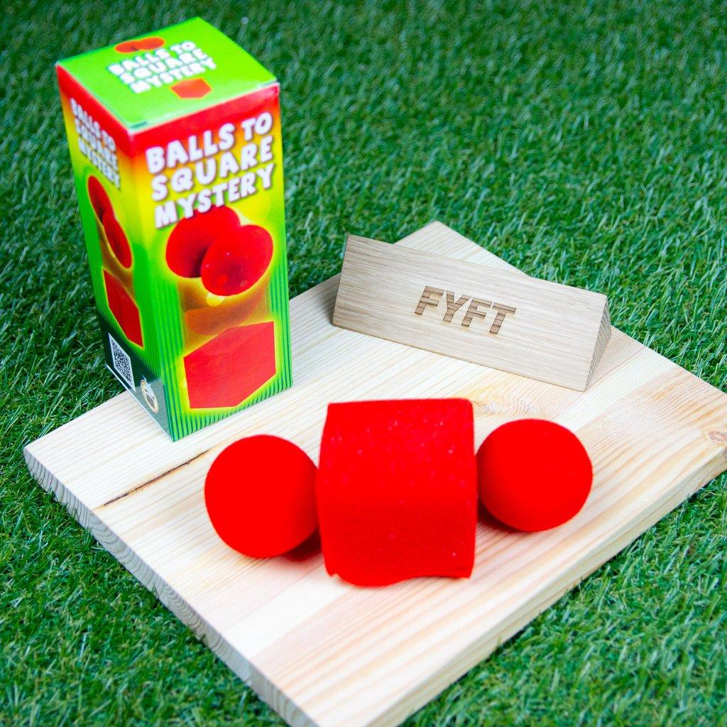 Sponge Balls - z míčků kostka