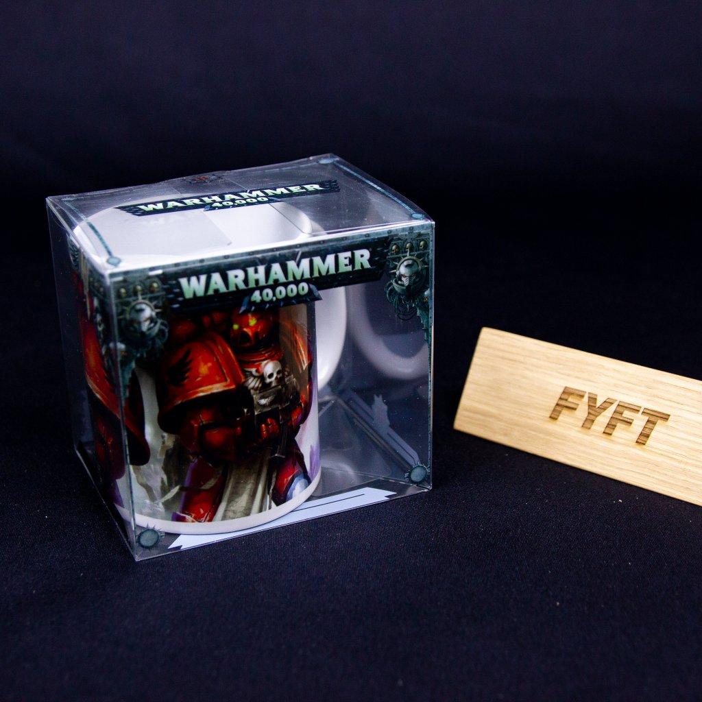 Hrnek Warhammer 40000 - Blood Angels Space Marines (Semic)