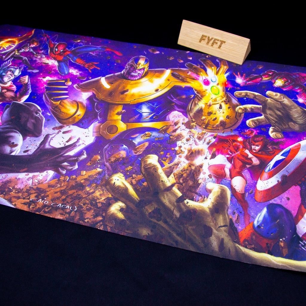 Podložka Marvel: Thanos Card Playmat (Upper Deck)