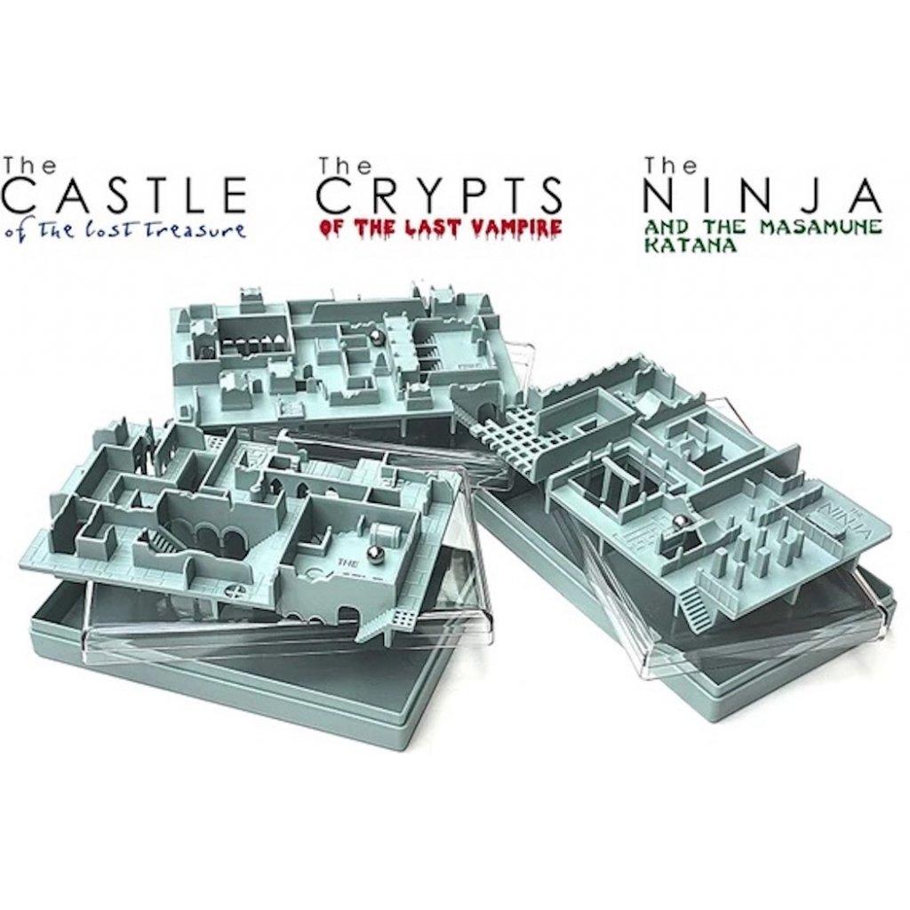 Castle hlavolam - Inside3 Legends Series