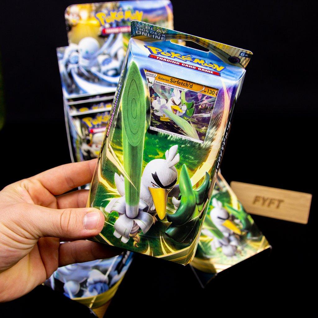 Pokémon: Sword & Shield 3 - Darkness Ablaze Theme Deck - Galarian Sirfetch'd (Nintendo)