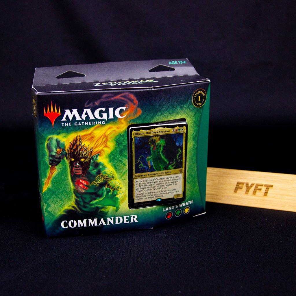 Land's Wrath - Zendikar Rising Commander (Magic: The Gathering)