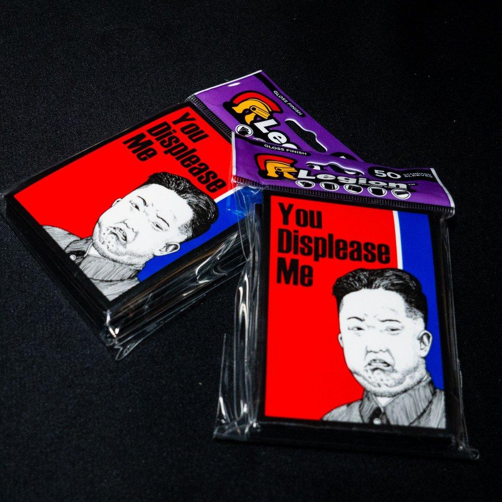 "Legion Grumpy Kim, ""You displease me"" Double Matte Finish (50ks) - obaly na karty"