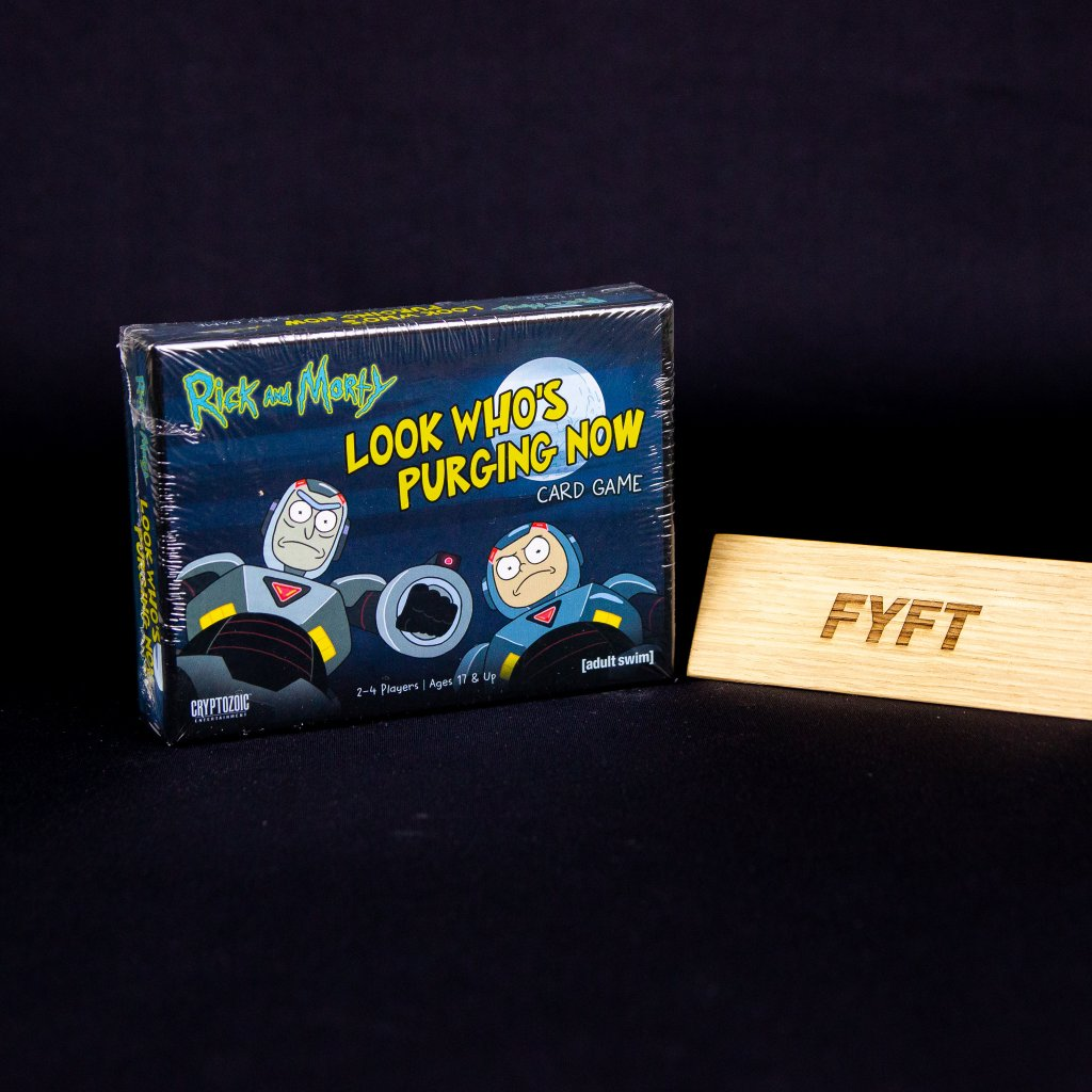 Rick and Morty: Look Who's Purging Now - EN (Cryptozoic)