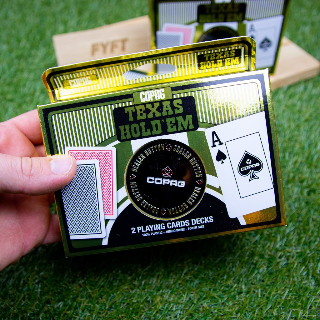 Texas Holdem Poker - 2 balíčky (Copag)