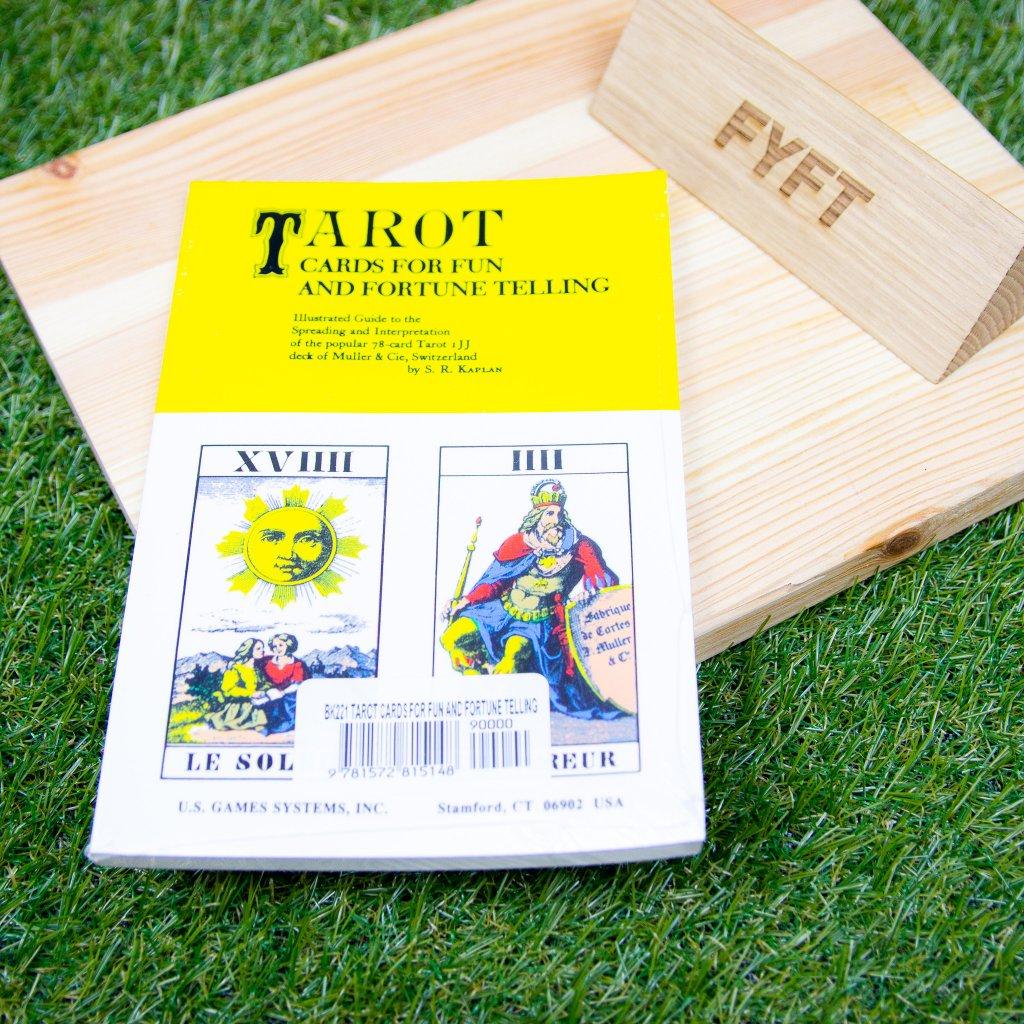 Tarot Cards for Fun and Fortune Telling - Tarotová příručka