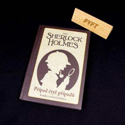 Komiks, v němž jsi hrdinou: Sherlock Holmes - Případ čtyř případů (REXHry)