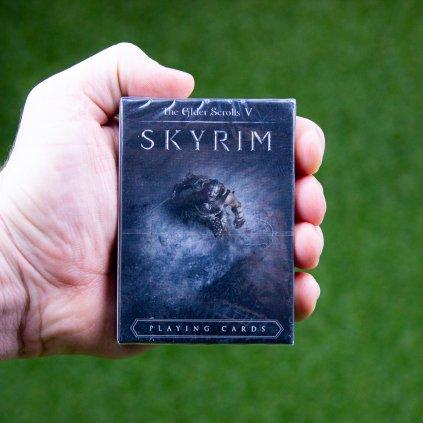 Elder Scrolls V Skyrim - hrací karty (FaNaTtik)