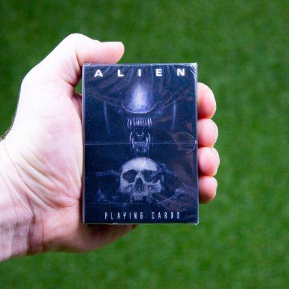 Alien - hrací karty (FaNaTtik)
