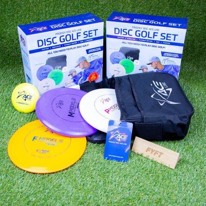 Ace-line sada 3 disků s brašnou na Discgolf