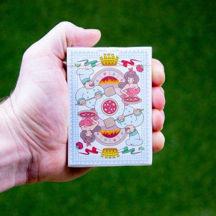 Pizza - hrací karty (LPCC)
