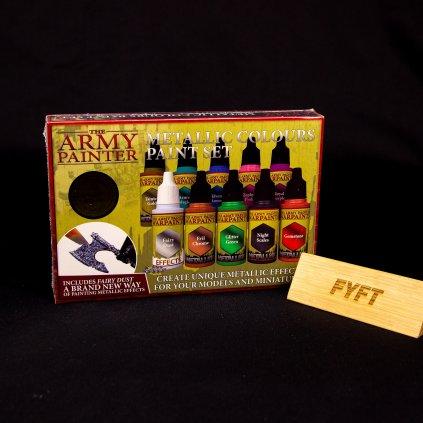 Metallic Colours Paint Set (Army Painter)