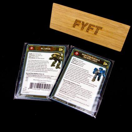 Battletech: MechWarrior Card Pack 2 - Kickstarter (CGL)