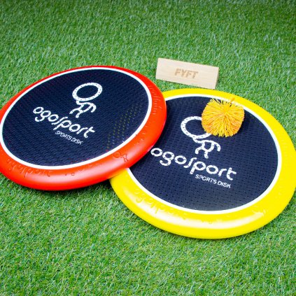 Sportovní disky s gumovým ježkem (OgoSport)