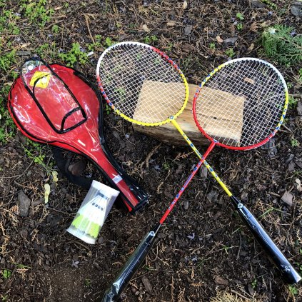 Sada na badminton (Schildkröt) - sada pro dva dospělé hráče