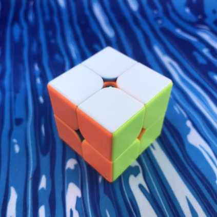 2x2 přívěšek - Rubikova kostka (klíčenka)