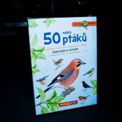 Expedice příroda: 50 našich ptáků (Mindok)