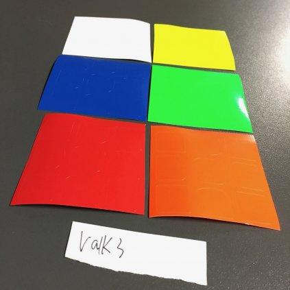 Valk 3 stickers - samolepky