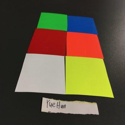 YueHun stickers - samolepky