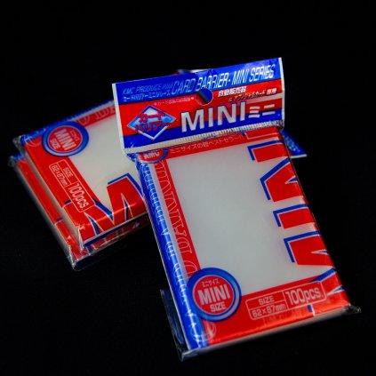 KMC Card Barrier Mini Series (62 x 87 mm, 100ks) - obaly na karty