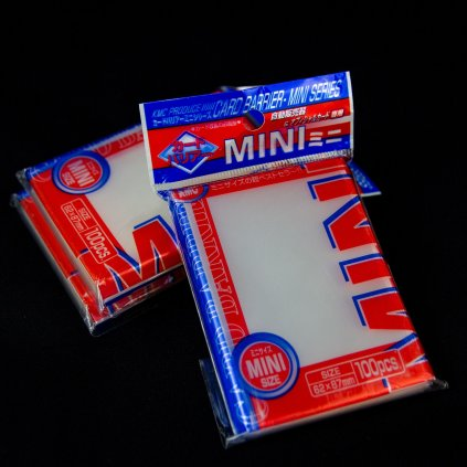 KMC Card Barrier Mini Series (62 x 87 mm, 100ks)