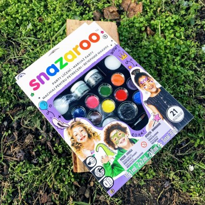 Snazaroo velká sada malování na obličej - Ultimate Party Pack