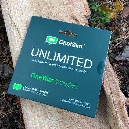 Celosvětová SIMkarta na psaní - ChatSim Unlimited