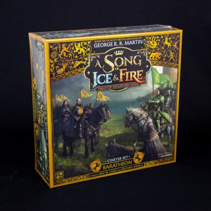 A Song Of Ice And Fire - Baratheon Starter Set - EN (CMON)