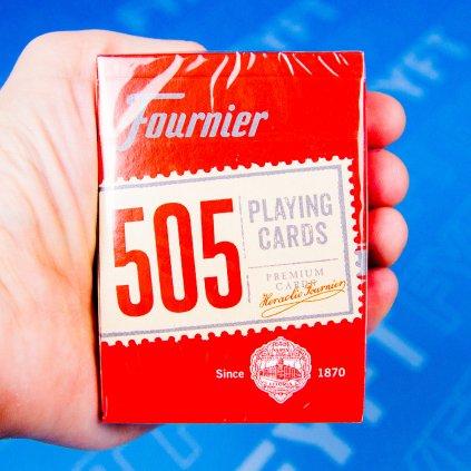 Fournier 505 - pokerové karty