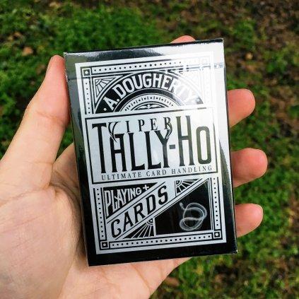 Tally-ho Viper (fan back) karty - Ellusionist metalic edice