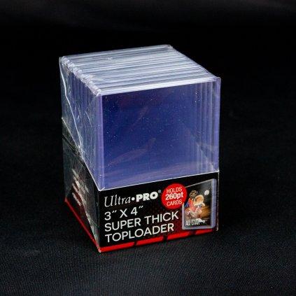 "Super Thick Toploader 3""x4"" 260pt (Ultra Pro)"