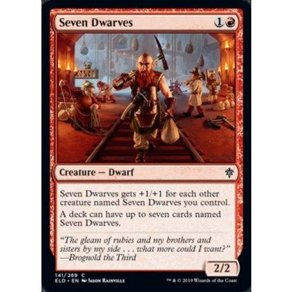 Foil: Seven Dwarves - kusovka (ELD)