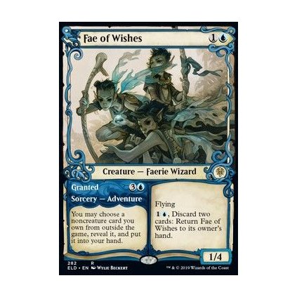 Foil: Fae of Wishes // Granted  - kusovka (ELD - extra)