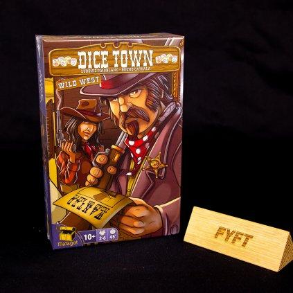 Dice Town: Wild West - CZ/EN (Matagot)