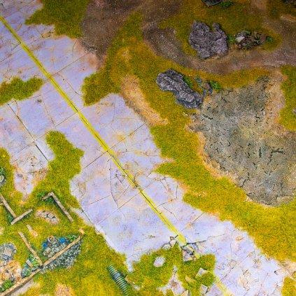 Herní podložka - Playmat: Lost Highway 122 x 122 cm (Kraken Wargames)
