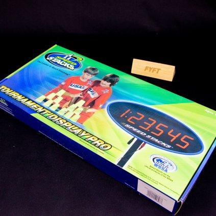 Tournament display PRO - soutěžní displej (SpeedStacks)