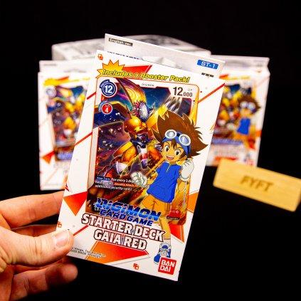 Digimon Card Game: Starter Deck - Gaia Red (Bandai)