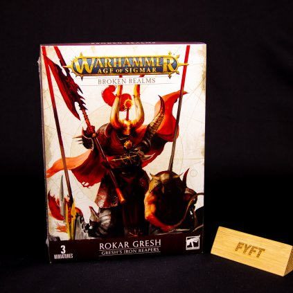 Warhammer Age of Sigmar: Broken Realms - Rokar Gresh