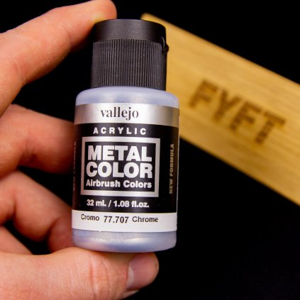 Vallejo Metal Color 77.707 Chrome 32ml