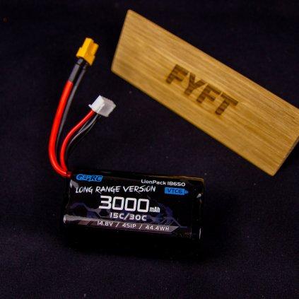 Baterie VTC6 18650 4S1P 3000mAh XT30 (GEPRC)