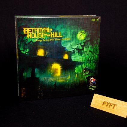 Betrayal at House on the Hill: 2nd Edition - EN (Avalon hill)