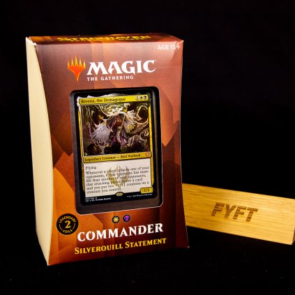 Silverquill Statement - Strixhaven: School of Mages Commander Deck (Magic: The Gathering)