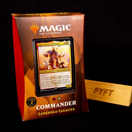 Lorehold Legacies - Strixhaven: School of Mages Commander Deck (Magic: The Gathering)