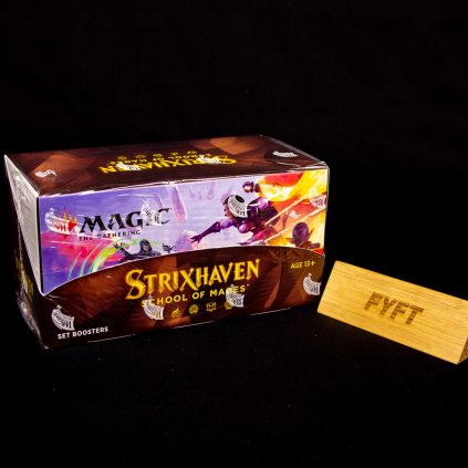 Strixhaven: School of Mages MTG Set Booster BOX (Magic: The Gathering)