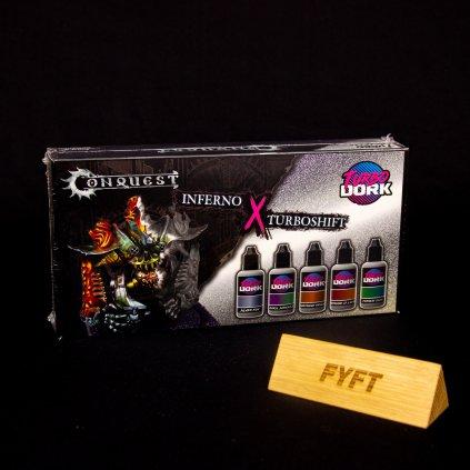 Conquest: Inferno X Turboshift Paint Set (Turbo Dork)